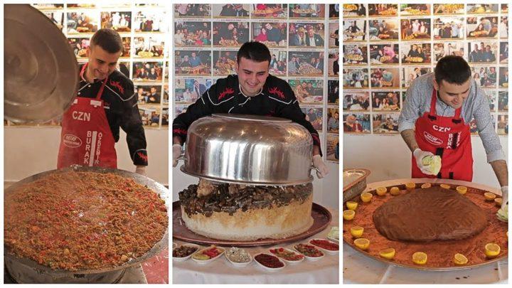 فنانة شهيرة في المطبخ تقلّد الشيف بوراك