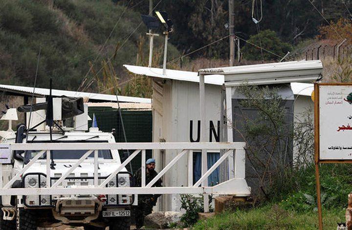 """""""اليونيفيل"""" تؤكد وجود نفق بين لبنان وإسرائيل"""