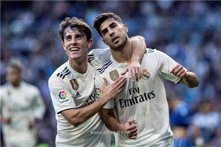 ريال مدريد يبلغ ثمن نهائي كأس الملك بعد سحق مليلية
