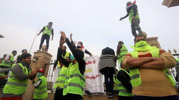 إطلاق سراح المعتقلين في تظاهرات البصرة