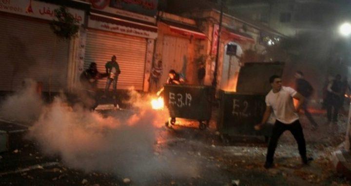 إصابة شاب بمواجهات عنيفة مع الاحتلال بقرية العيسوي