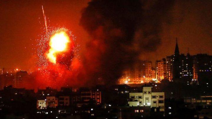 معاريف: باراك أصدر أمرا عسكريا بقصف المدنيين