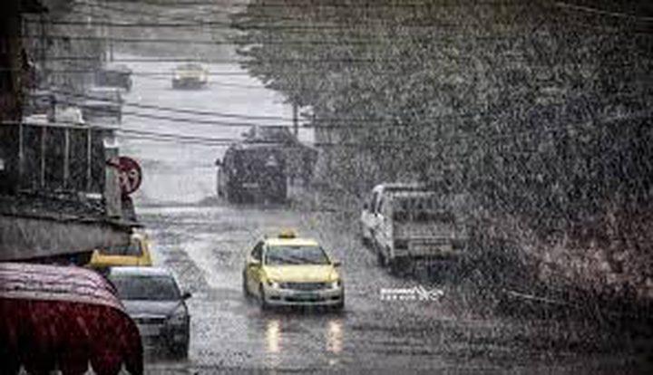 الطقس: اجواء باردة الى شديدة البرودة وأمطار غزيرة
