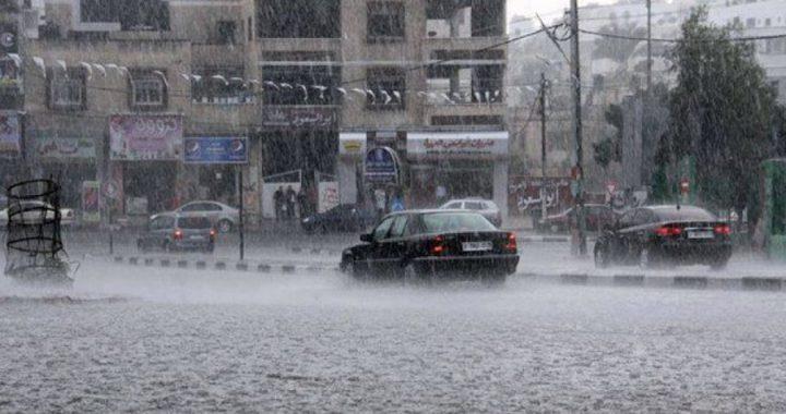 أمطار غزيرة وأودية وخسائر زراعية محدودة شمال الضفة
