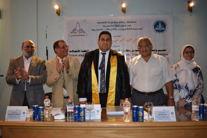 دكتوراه لفلسطيني في أنظمة الجيل الخامس للاتصالات