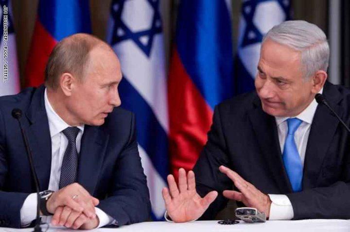 """نتنياهو يطلع بوتين على تفاصيل عملية """"درع الشمال"""""""