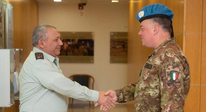 """""""ايرنكوت"""" يجتمع مع رئيس منظمة """"اليونيفل"""" في لبنان"""