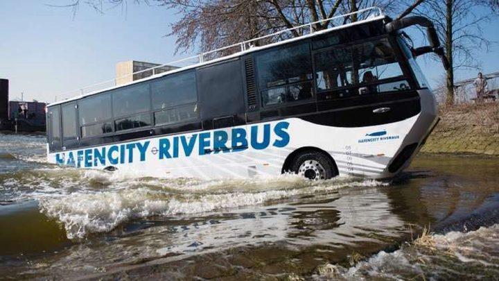 حافلات برمائية تظهر في شوارع موسكو
