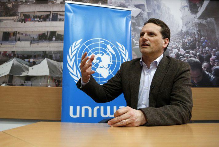 """المفوض العام لـ""""الأونروا"""" يزور غزة"""