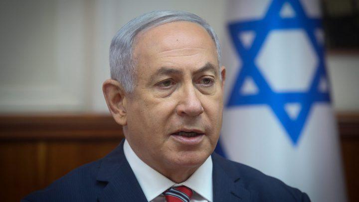 """نتنياهو :""""الوضع الآن يسمح لنا بالتصعيد ضد القطاع """""""