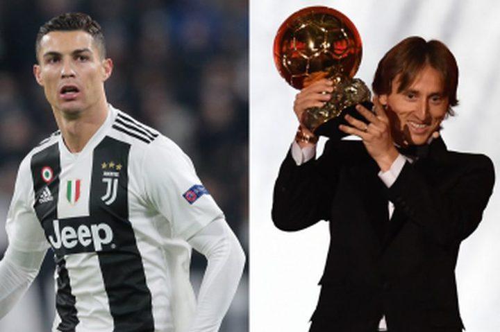 كريستيانو: أهنئ مودريتش.. لكني أستحق الكرة الذهبية