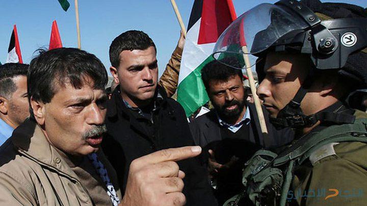 إحياء ذكرى استشهاد الوزير أبو عين في الخان الاحمر