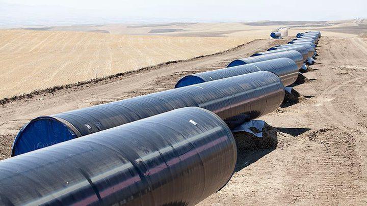 """الانتهاء من بناء خط غاز """"الأردن_إسرائيل"""" قريبا"""