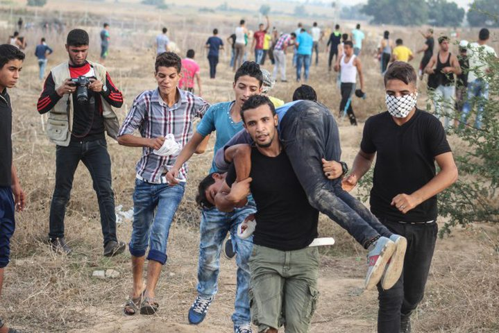 11 اصابة برصاص الاحتلال شمال قطاع غزة
