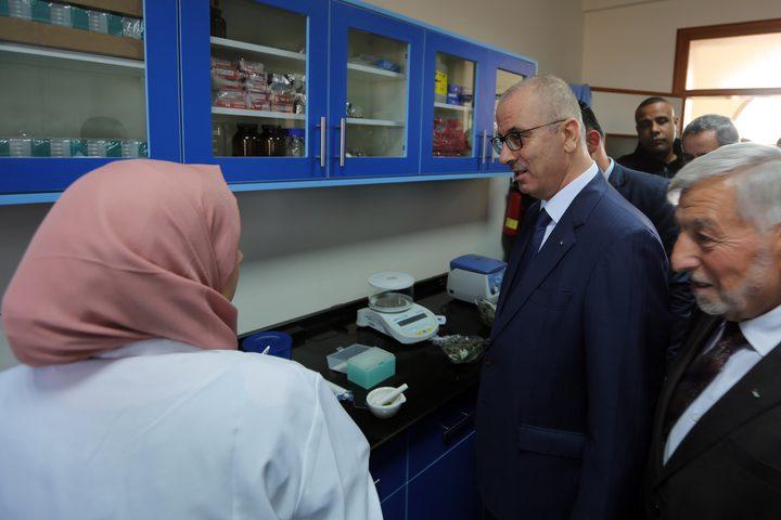 الحمد الله يفتتح بنك الجينات الفلسطيني والمعشبة الوطنية ومختبر الصحة النباتية المركزي ومشتل الشهداء الحرجي
