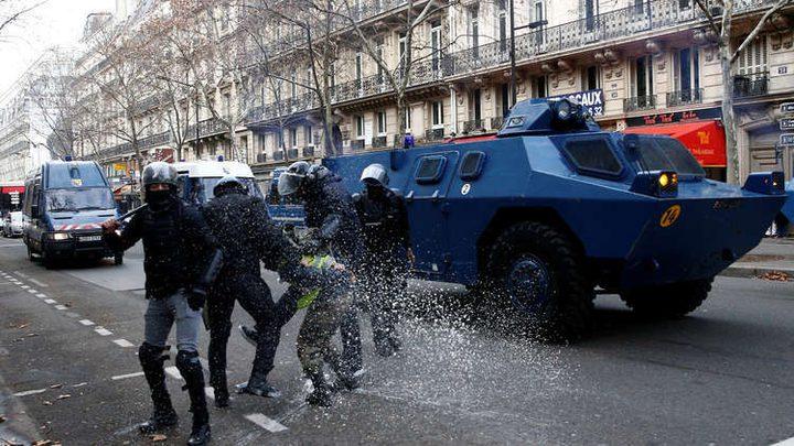 الكشف عن سلاح سري لوقف احتجاجات السترات الصفراء