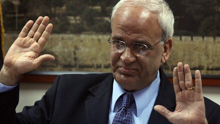 عريقات يدعو العالم لإدانة تحريض الاحتلال ضد الرئيس