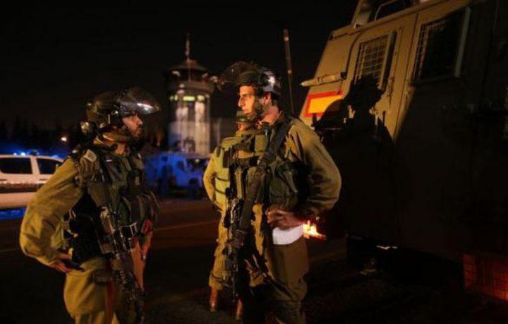 قوات الاحتلال تقتحم ضاحية الريحان