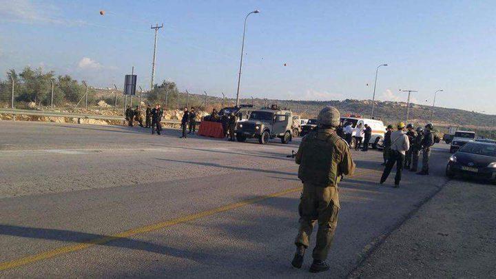 الاحتلال يقتحم اللبن الشرقية ويطلق القنابل والرصاص