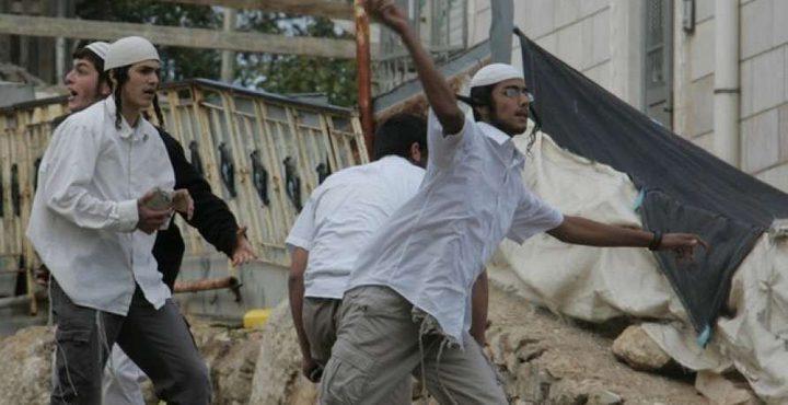 """""""محدث"""" مستوطنون يهاجمون قرية عصيرة القبلية جنوب نابلس"""
