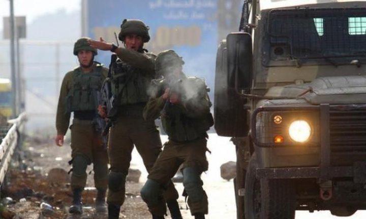 مداهمات واطلاق نار وانتشار مكثف لقوات الاحتلال