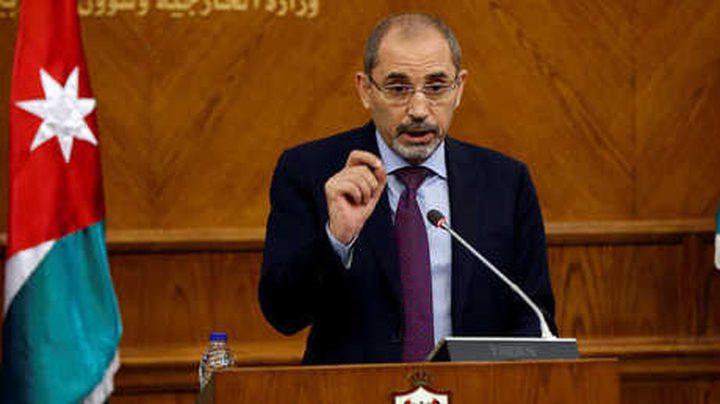 الصفدي: استمرار الاحتلال هو الخطر الأكبر على أمن المنطقة