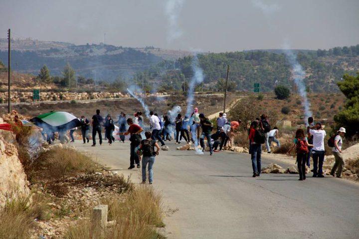 مواجهات مع قوات الاحتلال في طولكرم