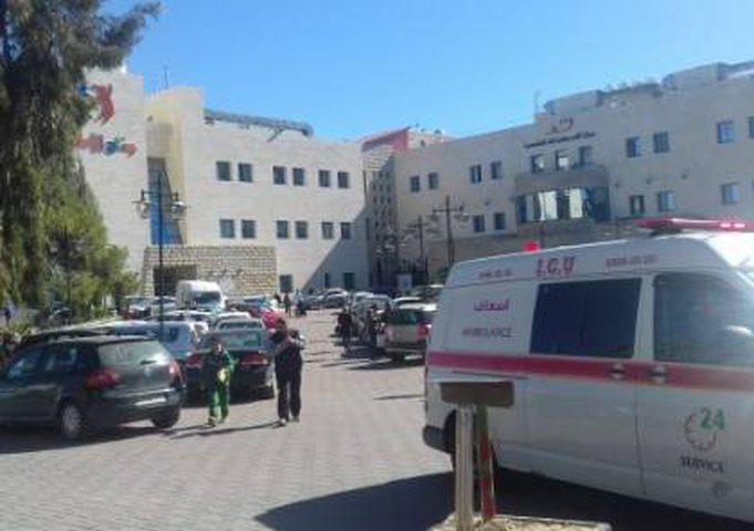 حالات اختناق بين مرضى مجمع فلسطين
