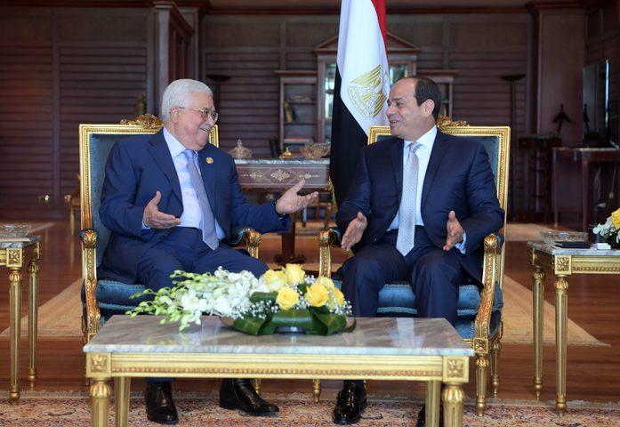 مصر تؤكِّد دعمهاالقضية الفلسطينية