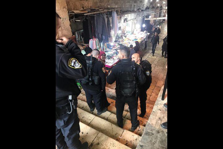 قوات الاحتلال تعتقل الفلسطينية جهاد الغزاوي