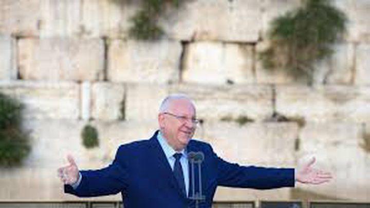 """الرئيس الاسرائيلي""""ريفلين"""": """"حزب الله سيدمر لبنان"""""""