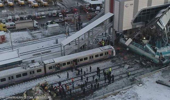 """تركيا تكشف عن خطأ غريب وراء حادث """"قطار الموت"""""""