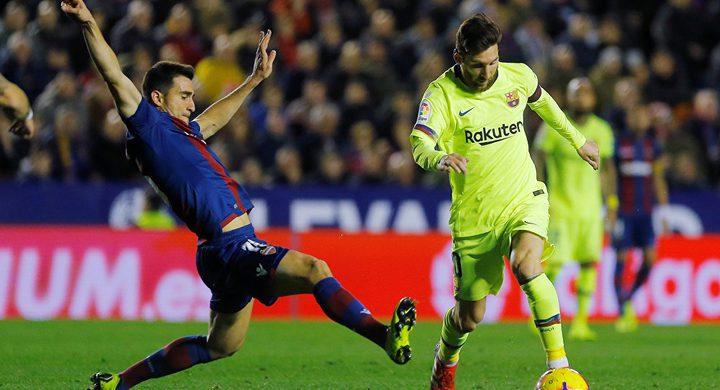 """برشلونة يكتسح ليفانتي بخماسية في """"الليغا"""""""