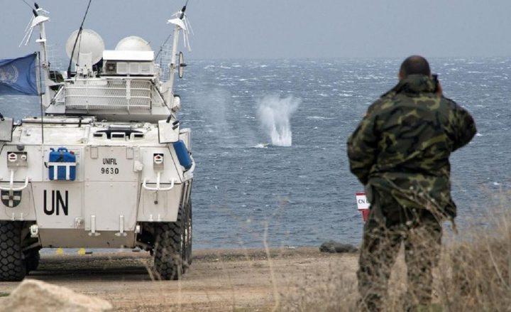 اليونيفيل: جنودنا انتشروا على الخط الازرق والوضع هادىء