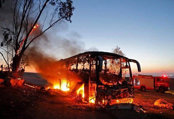 الاحتلال ينشر نتائج التحقيق حول استهداف حافلة بـ (كورنيت)
