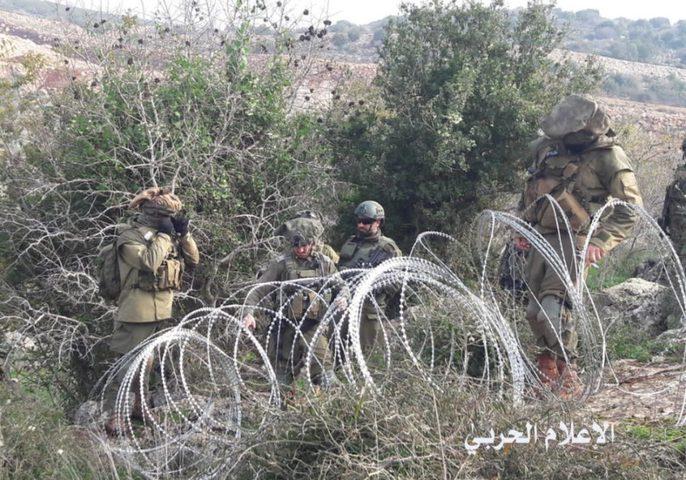 مواجهة بين الجيش اللبناني والقوات الإسرائيلية
