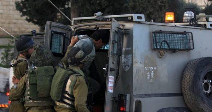 قوات الاحتلال تعتقل شابين جنوب الخليل