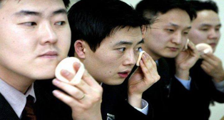 إقبال مذهل على مساحيق تجميل الرجال في كوريا الجنوبية