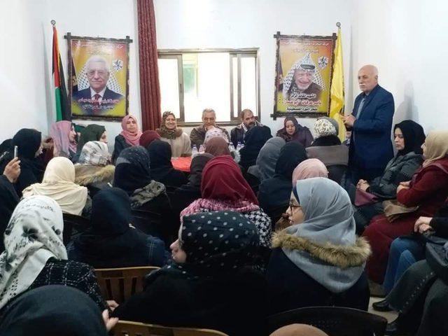 إقليم وسط خانيونس يناقش استعداداته لإحياء مهرجان الانطلاقة