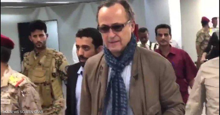 رئيس لجنة مراقبة وقف إطلاق النار بالحديدة يصل إلى عدن