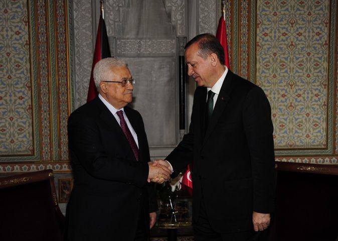 خلال اتصال مع الرئيس.. أردوغان يؤكد دعم تركيا لفلسطين