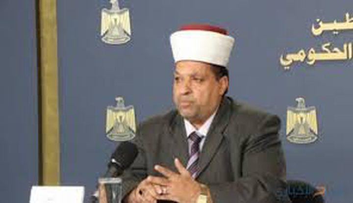 """ادعيس يندد باقتحامات أعضاء """"الكنيست"""" للمسجد الأقصى"""