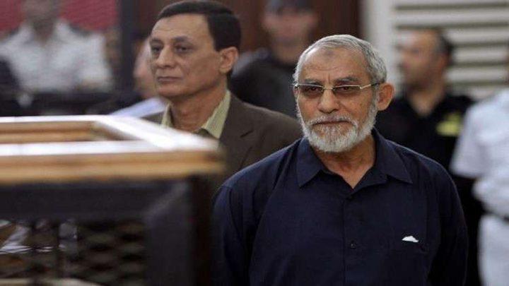 حكم نافد بالسجن عشر سنوات لمرشد الإخوان في مصر