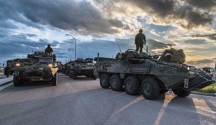رغم توتر العلاقات.. كندا تسلم مدرعات عسكرية للسعودية