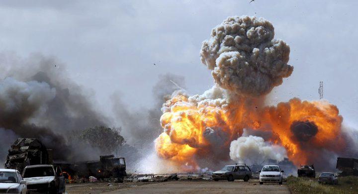 قتلى وجرحى بهجوم انتحاري قرب وزارة الخارجية في طرابلس