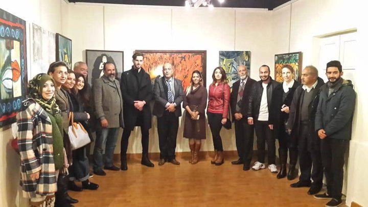 الشويكي سفيرا لإتحاد الفنانين التعبيريين باوروبا وتركيا