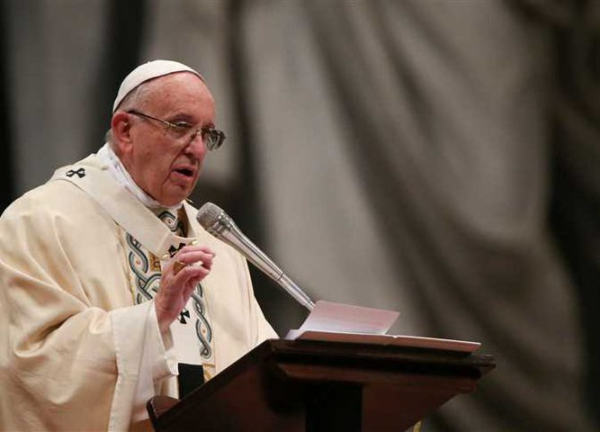 """بابا الفاتيكان يأمل بالحوار بين الفلسطينيين و""""الاسرائيليين"""""""