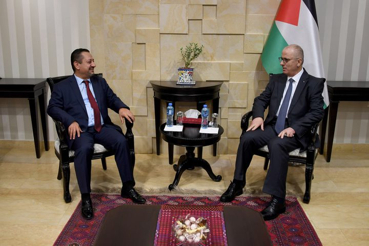 الحمد الله يدعو لتعزيز الاستثمار في فلسطين، خلال لقائه رجال أعمال بتركيا