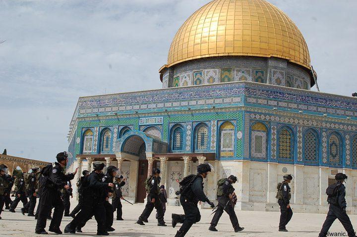مستوطنون يجددون اقتحاماتهم الاستفزازية للمسجد الأقصى