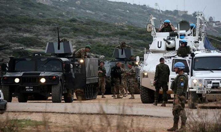 """اليونيفيل: الوضع على الحدود بين لبنان و""""إسرائيل"""" هادئ"""
